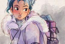 Vinter tegning