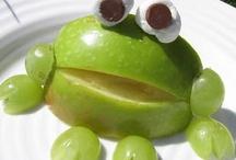 Obst und Gemüseplatte