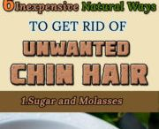 Rid of unwanted hair