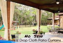 Drop Cloth Ideas / by Christina Jowers