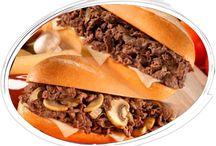Best Philly Cheese Steaks|Philly Cheese Steak Hamburgers