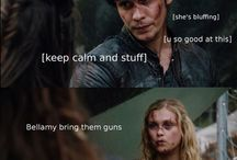 funny stuff about the 100