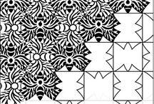 Escher/ tessellation