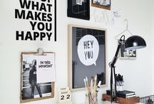From Dorm Decor to Office Decor / Interior design and decoration for everyone from college students to young professionals.  Dorm and office decor ideas.