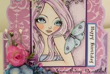 Sweet Pea Stamps Cards by Julie Gleeson