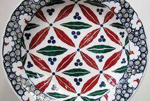 Pratos cerâmica