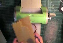 Card making - Cuttlebug