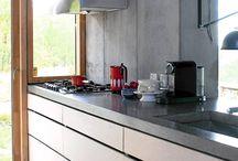 Kjøkkenbenk Ø1 / Hvilket materiale skal kjøkkenbenken være i?
