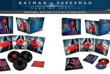 Batman v Superman Soundtrack / BATMAN V SUPERMAN: DAWN OF JUSTICE - THE SOUNDTRACK  FEATURES COLLABORATION BETWEEN HANS ZIMMER & JUNKIE XL  AVAILABLE ON CD, DELUXE 2 CD SET,  LIMITED EDITION 3 DISC VINYL DELUXE AND DIGITAL FORMATS  SOUNDTRACK RELEASES MARCH 18
