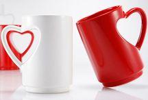 tazas de cafe,love