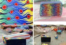 fimo-skladanie farieb-tvary