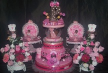 "Diaper Cakes By Kimkizzies / by Kimkizzies ""Fussy Little Things"""