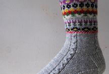 strikkesokker