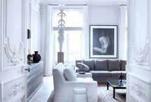 Paris Apartments & French Interiors / Paris Apartment, French Interiors, Interior Design / by Brenda Goss