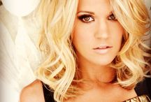 Carrie Underwood / She's sooooo pretty and has such a good voice!