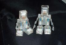 DIY MODEL RECYKLING UPCYCLING / Modele, figurki, roboty, wykonane z odpadów.