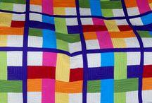 Woven quilt blocks