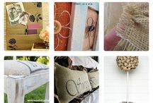 Burlap / Worki lniane / Burlap - inspirations, ideas and tutorials, DIY Worki lniane, konopne  - pomysły, tutoriale, DIY