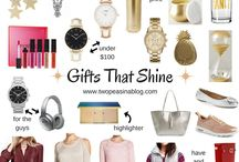 LIFESTYLE || Gift Ideas / The best gift ideas from the fashion and lifestyle blog Two Peas in a Blog.