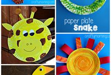 Plates aren't for dinner! / Paper plate crafts for kids