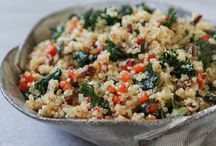 Grains: Quinoa, Farro, Rice, Barley, and more / Grain dishes-- many whole grain-- to savor / by Marge Perry