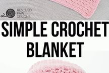 Simple Crochet Blanket