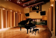 Recording Studios / Recording studios, design- everything about it- I ADORE. / by Michelle T