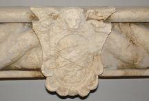Dettagli / Particolari di oggetti in marmo e pietra- Items in marble and stones parts