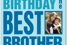 Birthday Cards For Your Brother / by Treat
