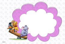 winnie the pooh - frames