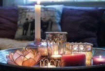 Свечи в стекле
