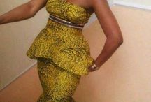African attire I love...
