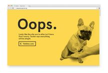 Cool 404 Pages