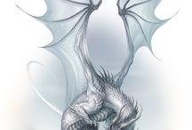 Dark Eye - DSA - Drachen - Dragons