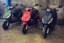 Piaggio / Piaggio bikes and scooters