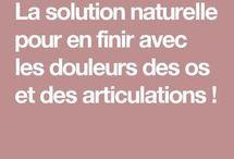 DOULEURS OS ARTICULATIONS