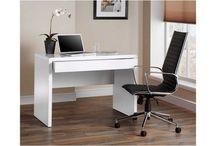 Home Office Stylish Wooden Modern Computer Desk White Workstation Furniture PC