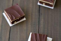 Marcipan brownies