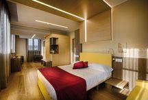 Hotel Il Cantico Roma / PROGETTO: Arch. Febronia Volatile-Arch. Mauro Pantuso -Roma; Intertecnica; Foto: Francesco Tonelli