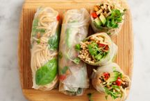 Appetizer: Egg Rolls/Spring Rolls / Ultimate collection of bright and vibrant spring rolls and crisp and delicious egg rolls!