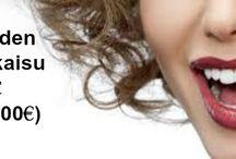 Hampaiden valkaisu / Karbamidiperoksidi ja valo yhdessä ovat tehokkain tapa vaalentaa hampaita.