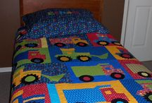 Children's quilts and sewing