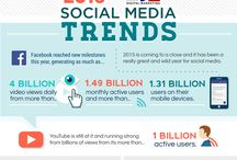 social media platforms infographics