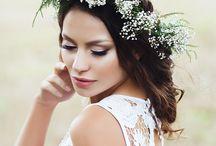 fryzury ślubne i ozdoby