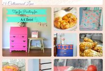 Inspired by Bloggers- Great Blogger Projects / All the talent from the greatest bloggers here on one board. Lifestyle, interiors, DIY projects and food. If you'd like to join the group board, please follow me on Pinterest and then email me at Jenna@24cottonwoodlane.com to be added. Maximum 5 pins per day and no spam, please. xoxo