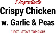 Chicken Recipes / Recipes that include chicken.