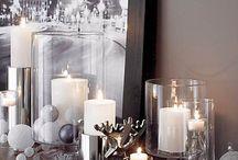White Christmas/ Valkoinen joulu / Koti pukeutuu valkoiseen jouluun. Home is dressing to White Christmas.