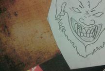 Year 11 Art Board / My art