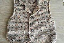 pletené věci pro děti