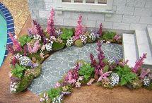 miniature walkway/sidewalks